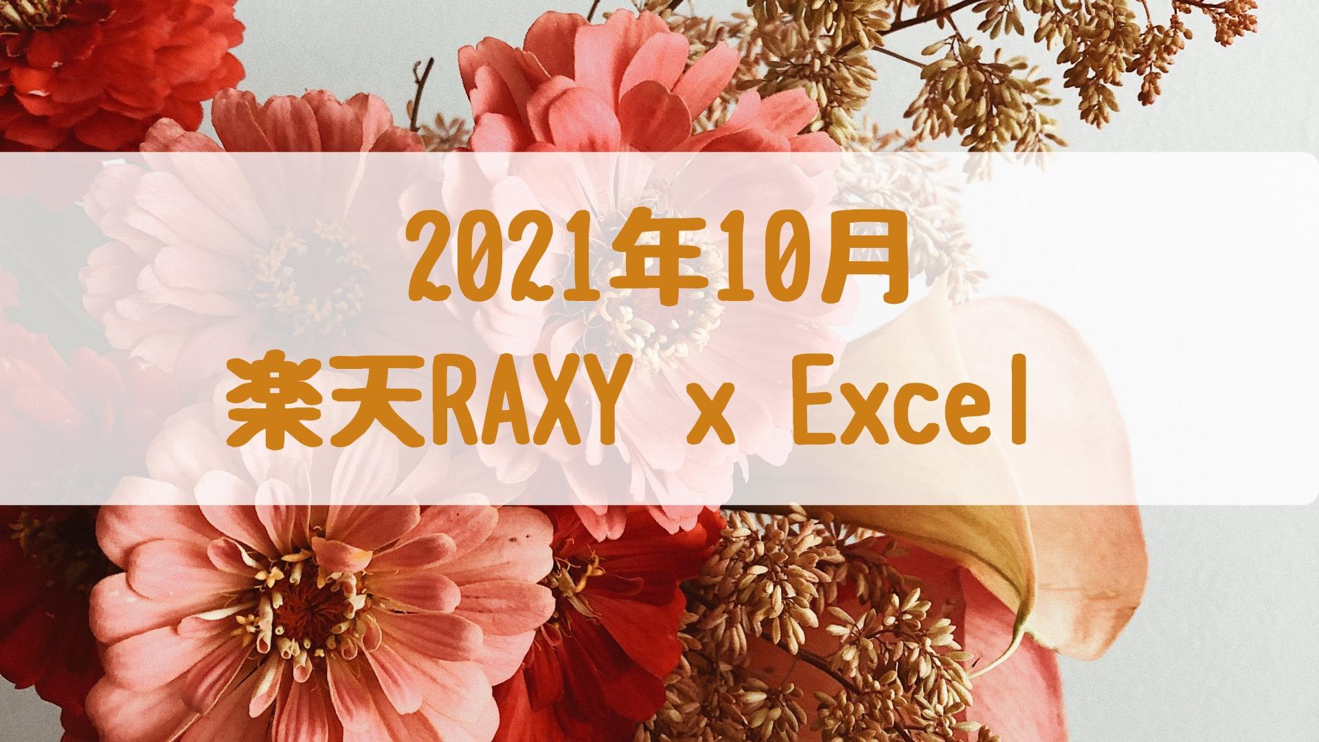 RAXY Excel